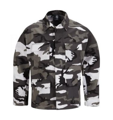 urban camo bdu shirt propper military surplus