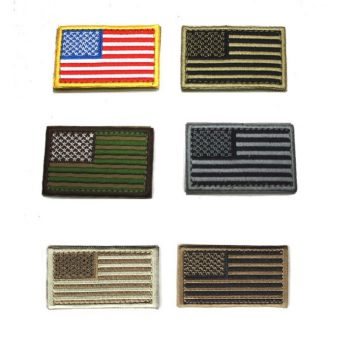 military surplus us flag patches 2x3