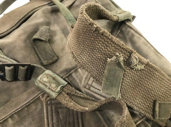 military surplus usmc haversack m1941 top pack, very used condition