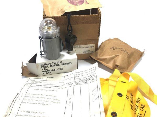 marines life preserver kit new old stock in box