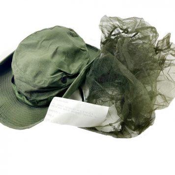 vietnam poplin boonie hat with mosquito net