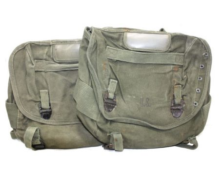 vietnam canvas buttpack used condition military surplus