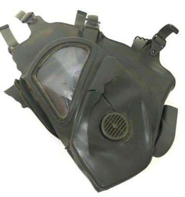 military surplus vietnam gas mask xm-28 bad condition