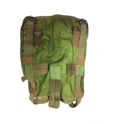 Original Vietnam dated nylon sleeping bag carrier