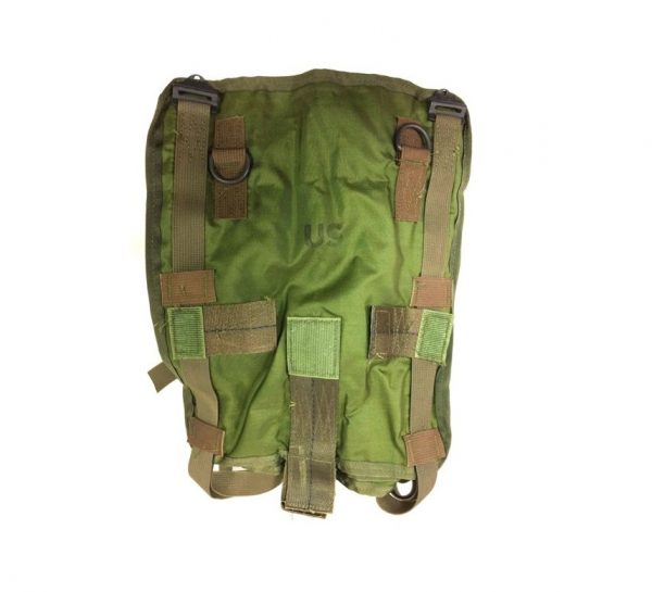 Original Vietnam dated nylon sleeping bag carrier