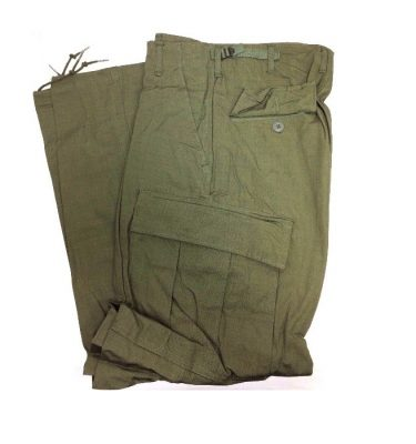vietnam jungle fatigue trousers military surplus