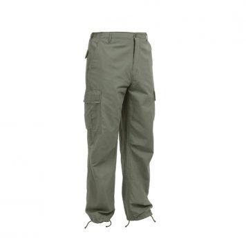 military surplus vintage vietnam era fatigue trousers reproduction