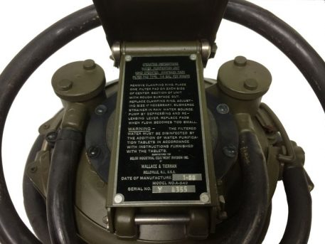military surplus water purification unit