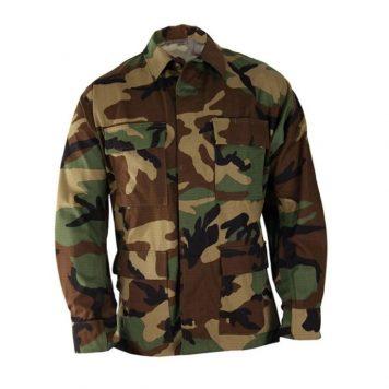 military surplus woodland bdu shirt