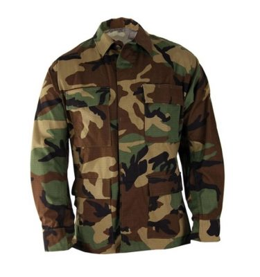 military surplus woodland bdu shirt