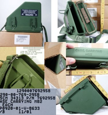 M82 Carrying Case Radioactive Instruments