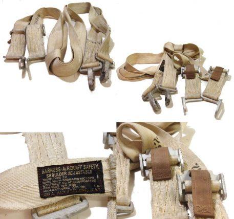 Harness Aircraft Safety-shoulder Adjustable