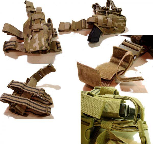 Multicam Tactical Leg Holster