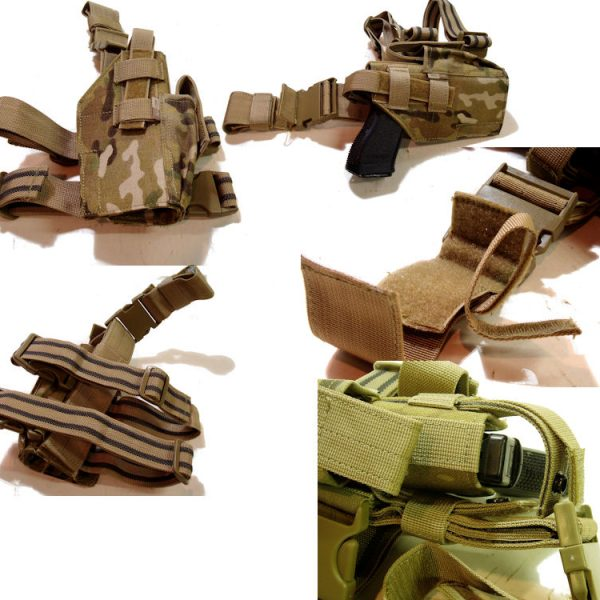 Multicam Tactical Leg Holster
