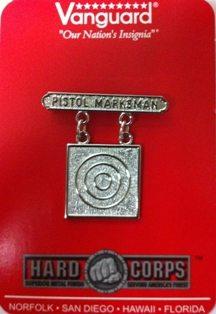 USMC Pistol Marksman Badge.