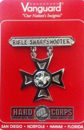 USMC Rifle Sharpshooter Badge