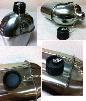 Stainless Steel Canteen, Reproduction