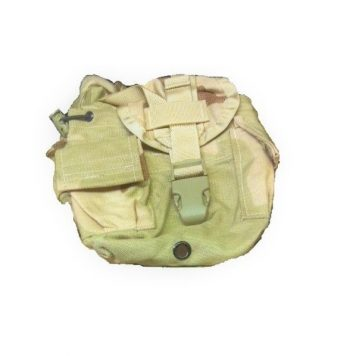 3 color desert molle canteen cover for 1 quart