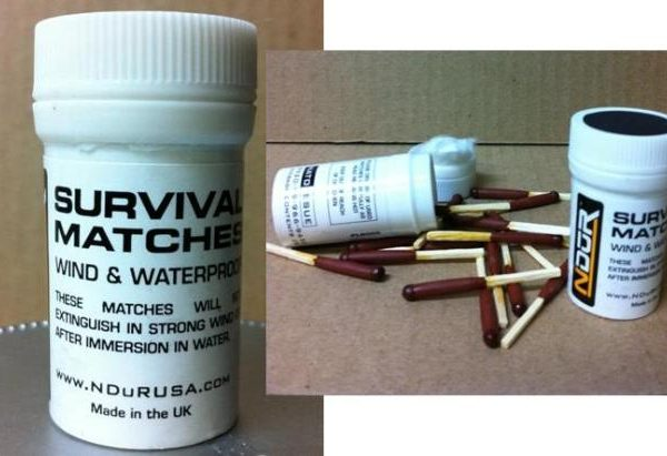 Waterproof Survival Matches