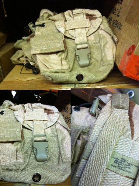 3 Color Molle 1qt Canteen Cover