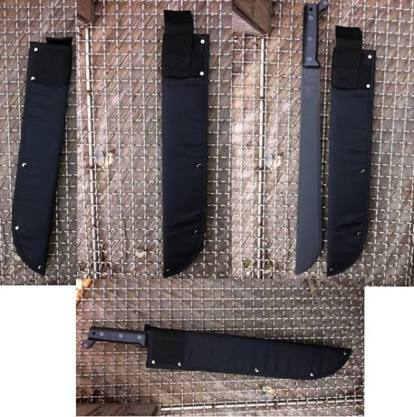 Black Nylon Machete Sheath 18''
