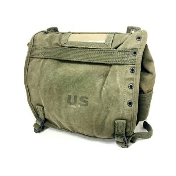 early m56 green military butt pack