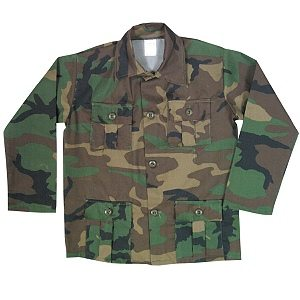 Youth Bdu Shirt  Camo