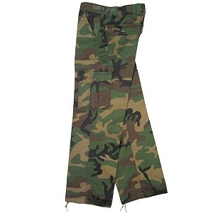 Youth Bdu Trousers Wdld Camo