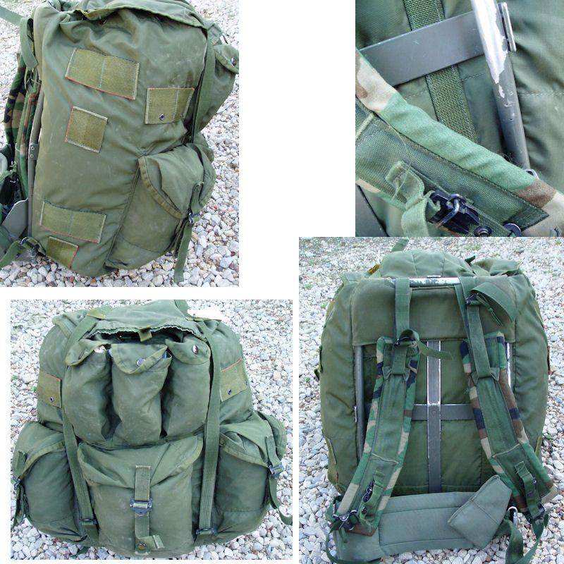 genuine military backpack frame alice