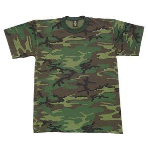 Camo T-shirt, Woodland