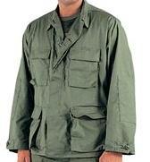 BDU Olive Drab Green Shirt,ripstop