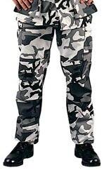 Bdu City Camo Trousers, Twill