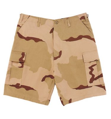 Bdu Shorts, 3-color Desert Camo