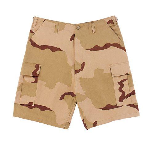 Bdu Shorts, 3-color Desert Camo