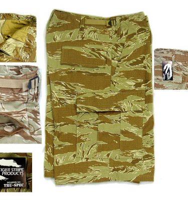 BDU Shorts, Desert Tigerstripe