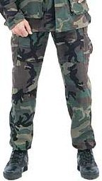 Bdu Woodland Camo Trousers