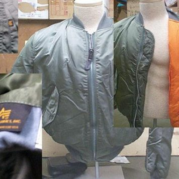 Ma-1 Flight Jacket, Alpha