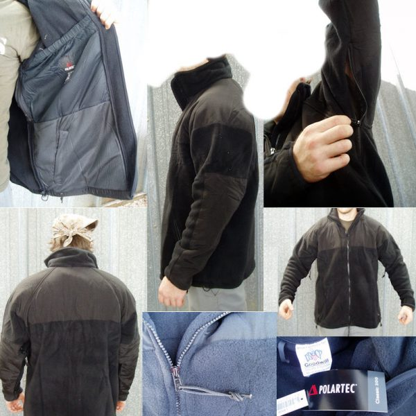 Military Polartec Fleece Jacket Ecws