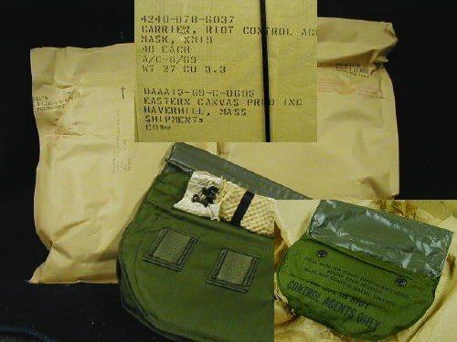 XM28E4 Gas Mask Bag, 2 Pk