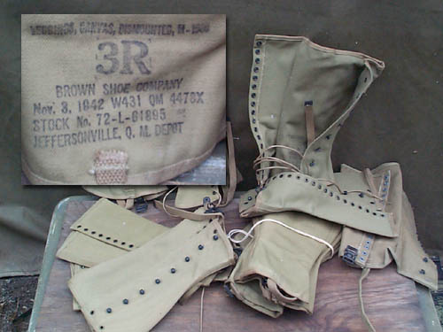 WW2 Leggings, Size 3