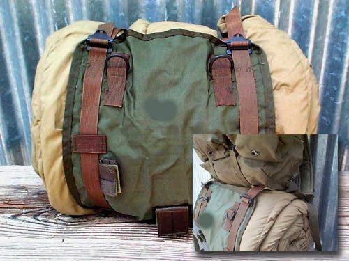 Vietnam Issue Alice Sleeping Bag Carrier, Used