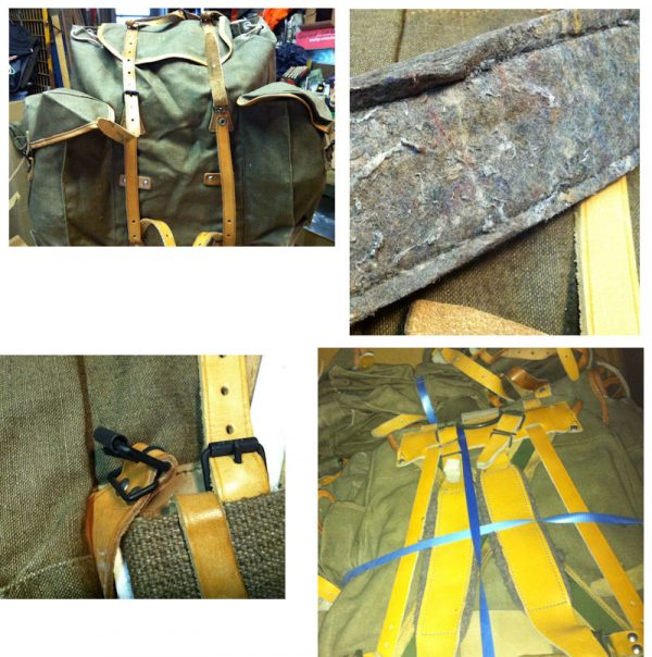 French Army Combat Pack, Used Exc
