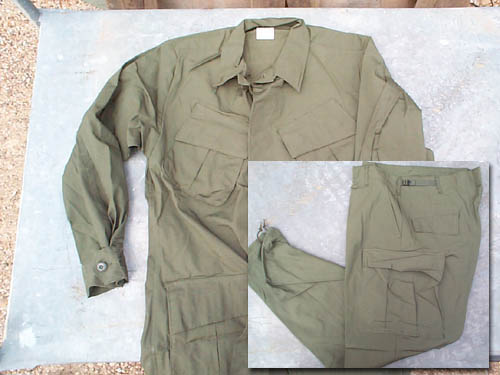 Vietnam Jungle Fatigue Shirt