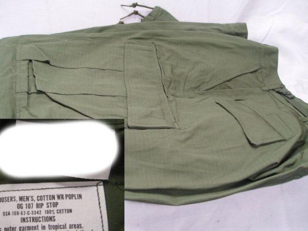 vietnam jungle fatigue pants