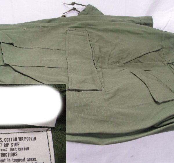 Vietnam Jungle Fatigues Rip Stop Pants