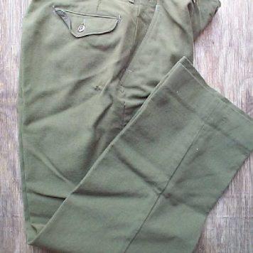 Wool Field Pants, Very Used