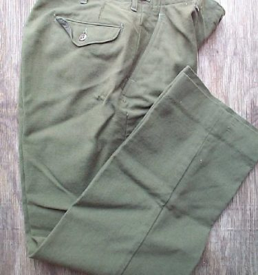 Wool Field Pants, Very Used