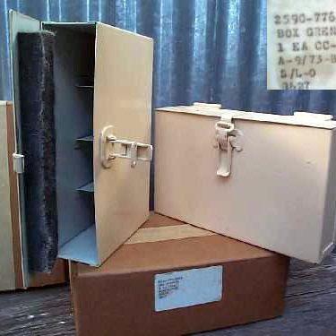 Army Tanker Grenade Box