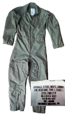 Military Flight Suit, New