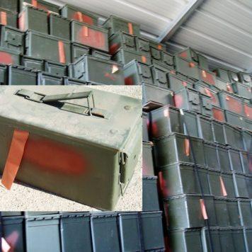 50 Cal Ammo Box, Used Fair Cond.